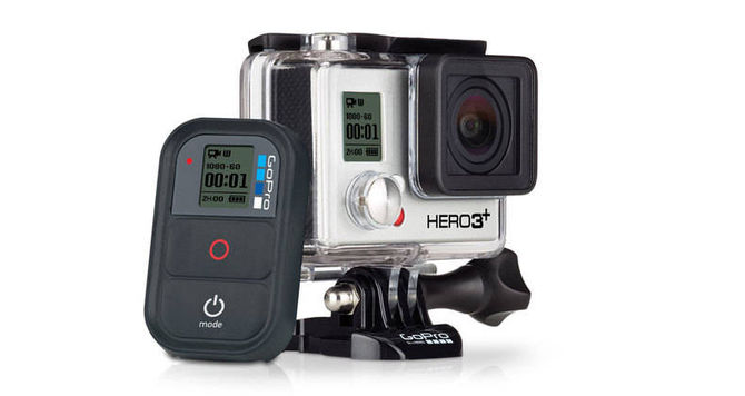 GoPro Hero3+ Black with remote